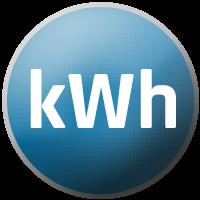 kWh-Abrechnung