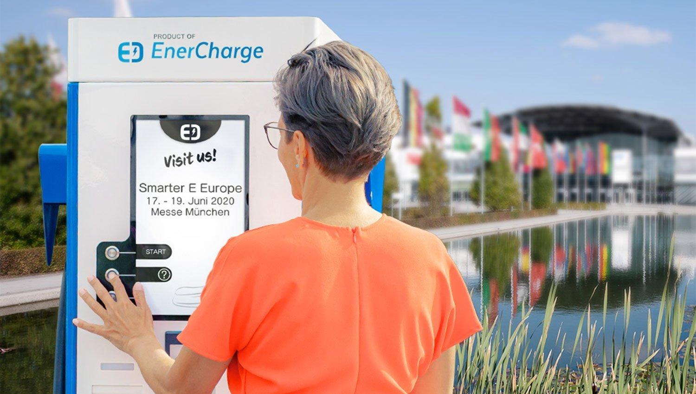 Visit us - Smarter E Europe Messe